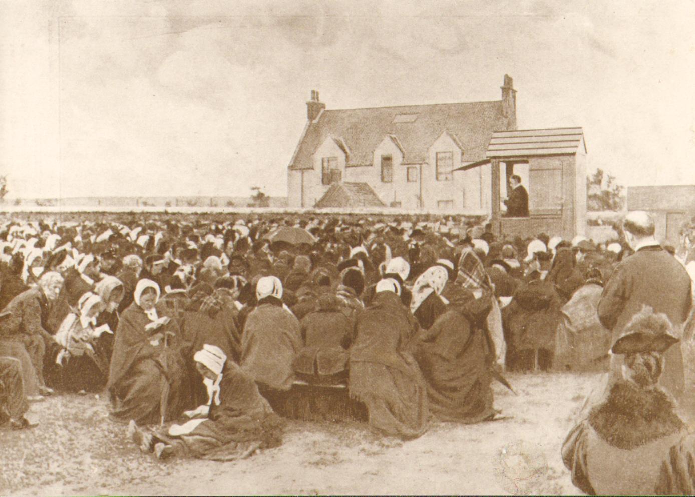 Outdoor Sermon