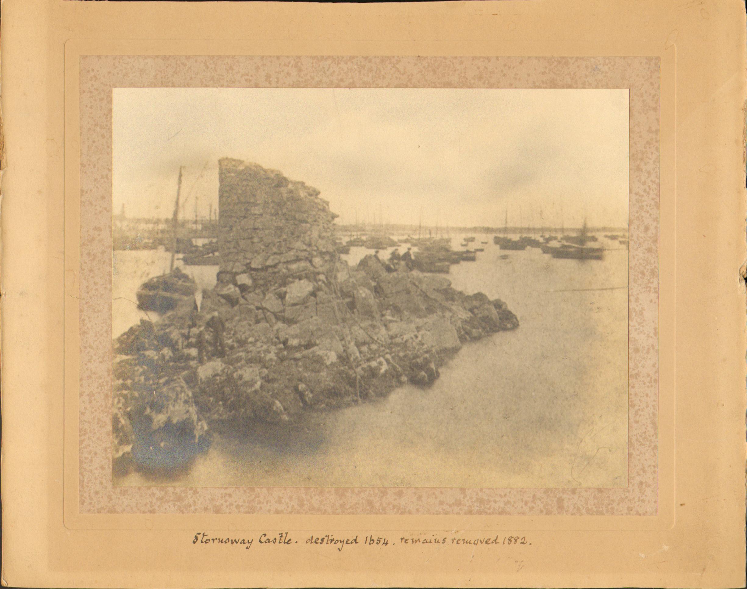 Stornoway Castle pre 1882
