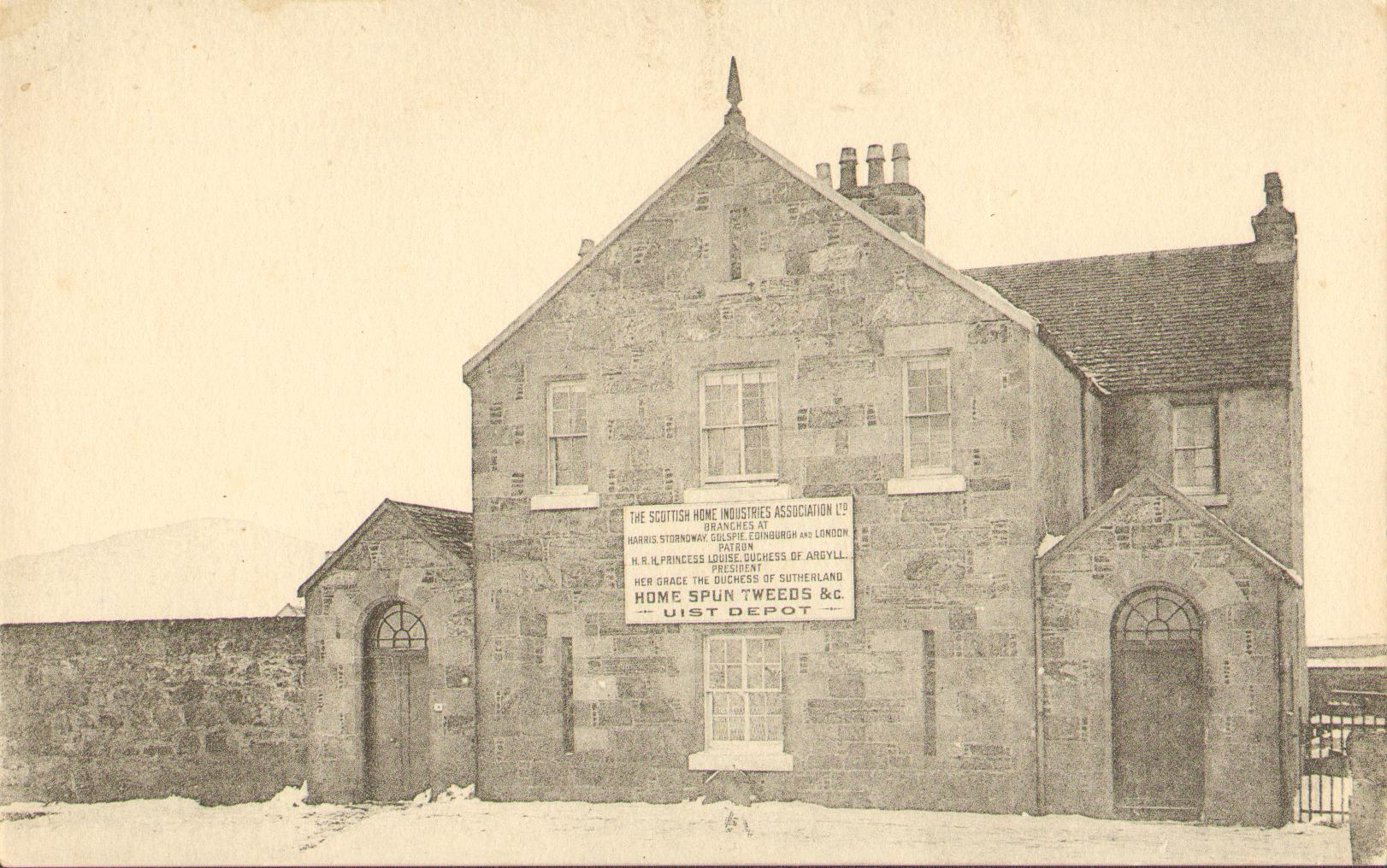 Home Spun Tweeds, Uist Depot, Lochmaddy