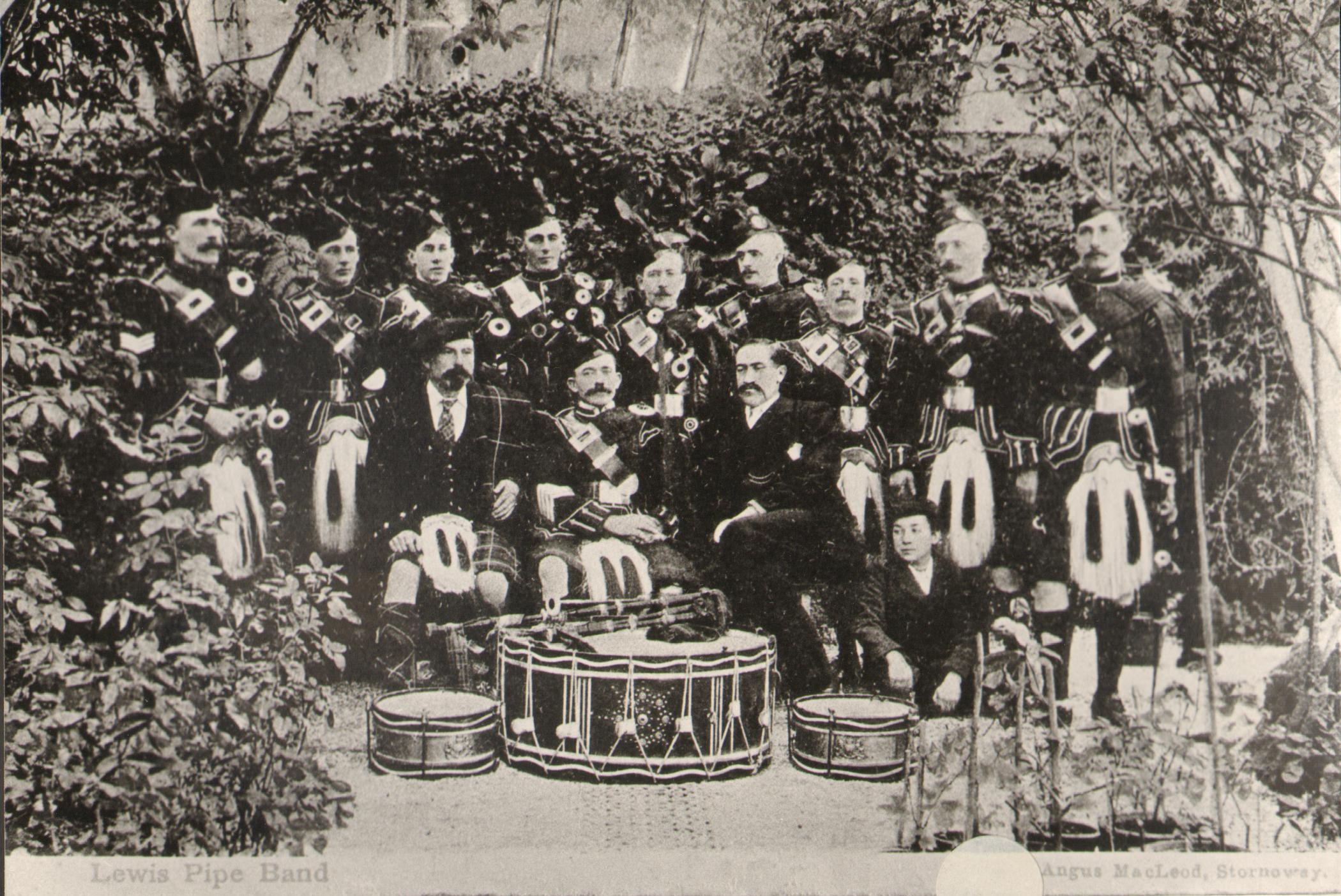 Lewis Pipe Band