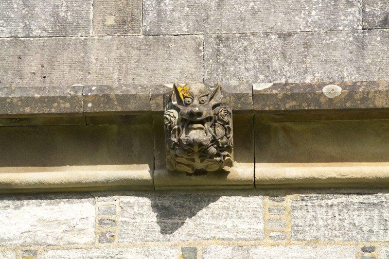 Gargoyle on Lews Castle
