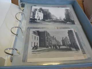 Photographs in archive storage