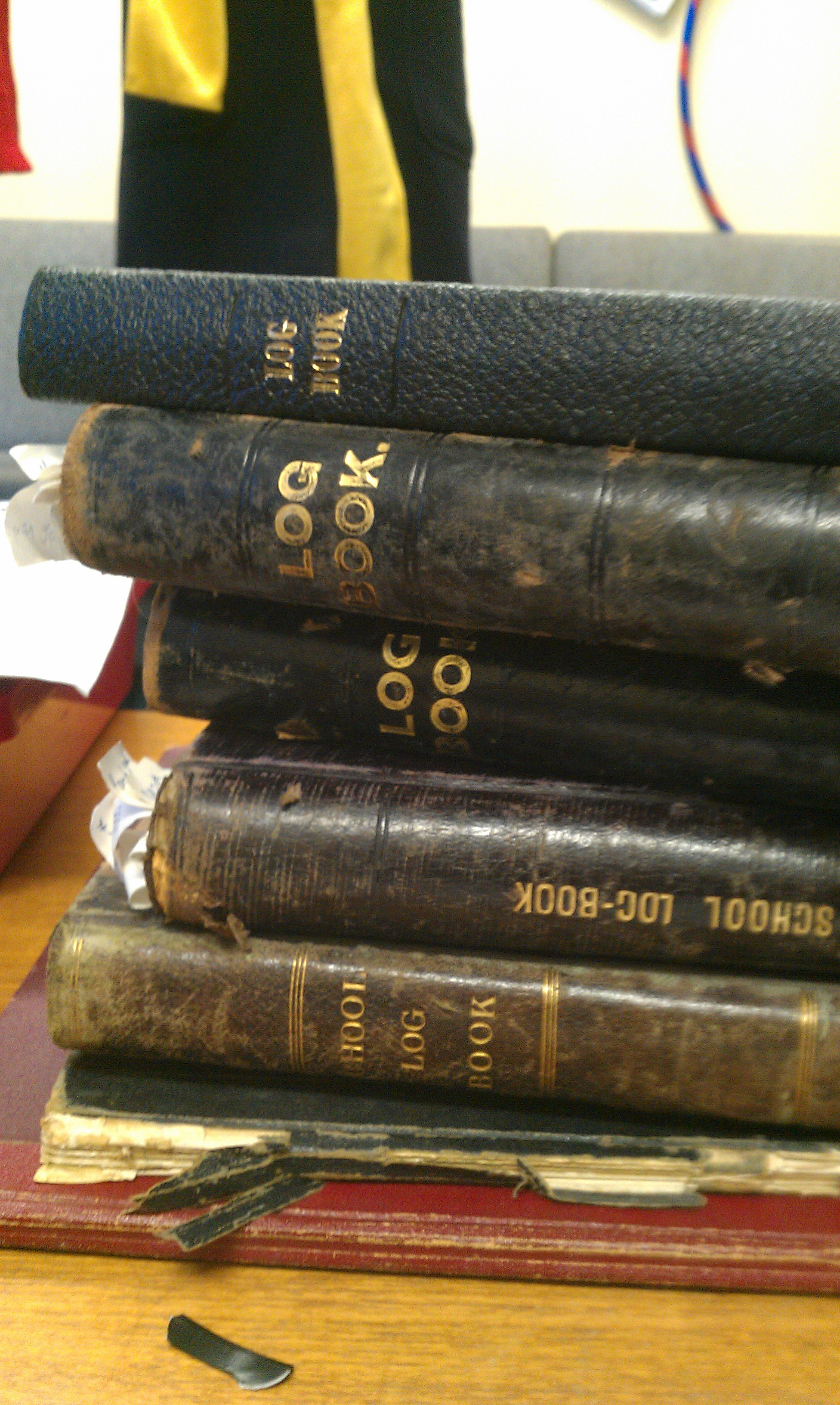 Sandwickhill school log books