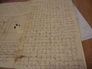 1827 letter
