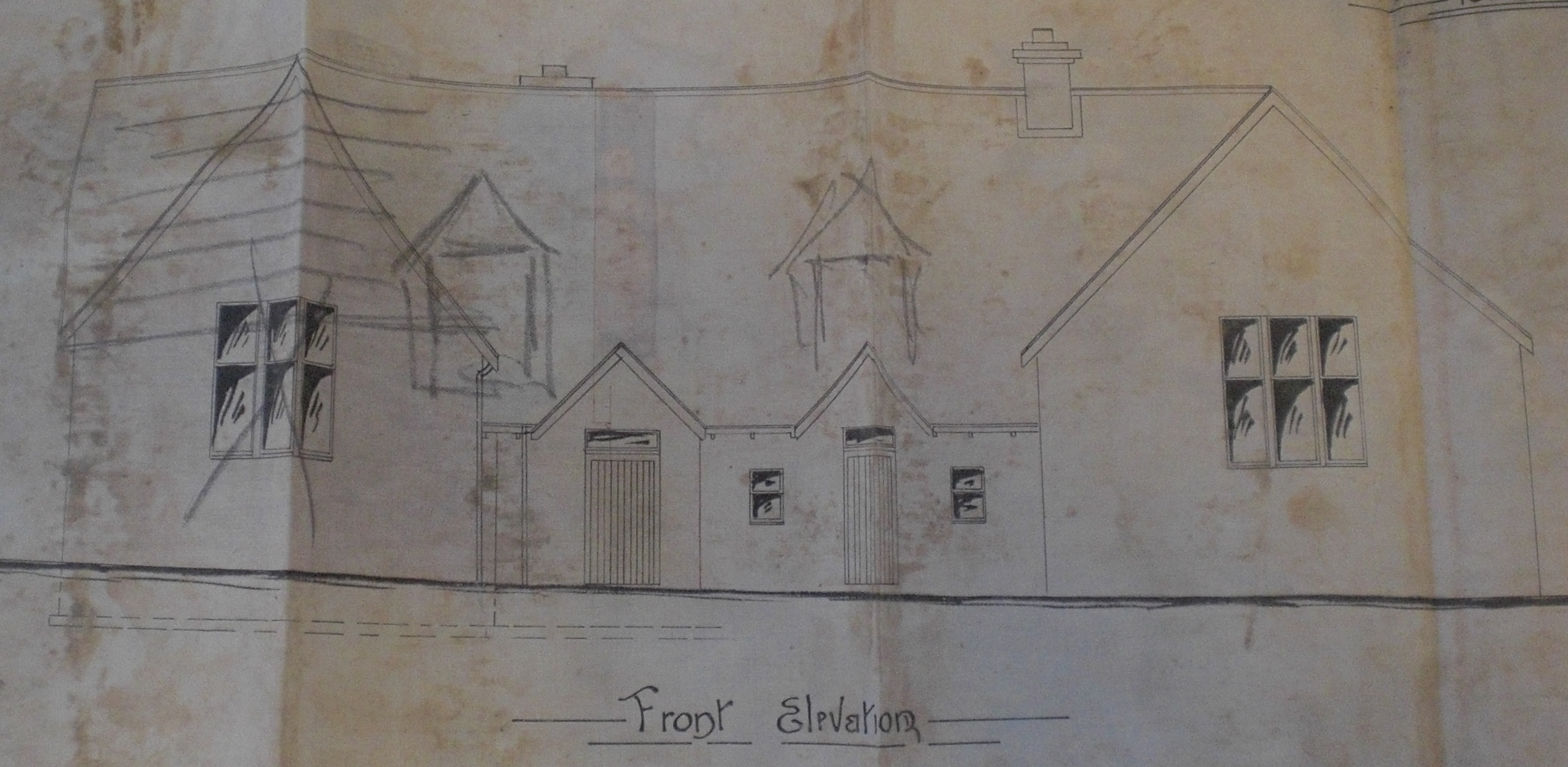 Carloway School 1893 elevation