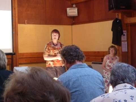 Alison Dix introduces Marjory Harper