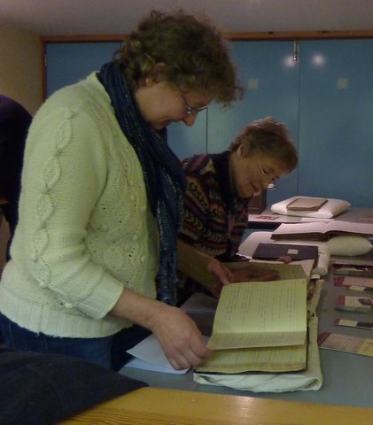 Viewing log books relating to North Lochs schools