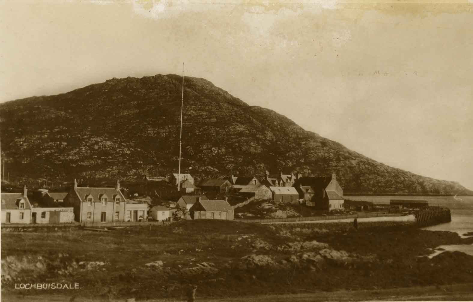 Lochboisadle featuring the Marconi pole