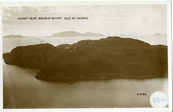 The Shiant Islands of the coast of North Harris