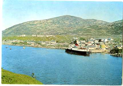MV Hebrides at Tarbert, Harris