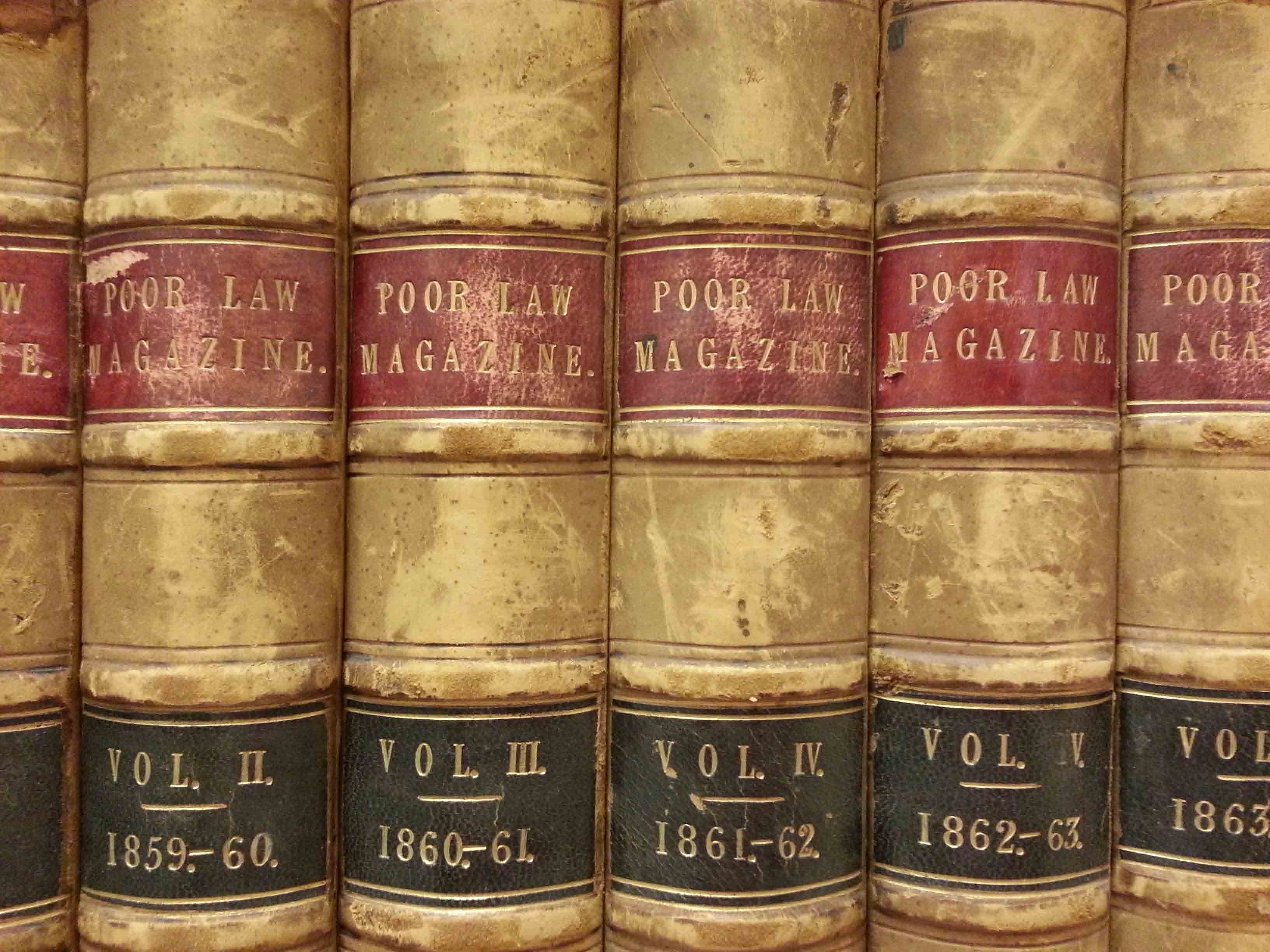 Poorlaw magazine volumes