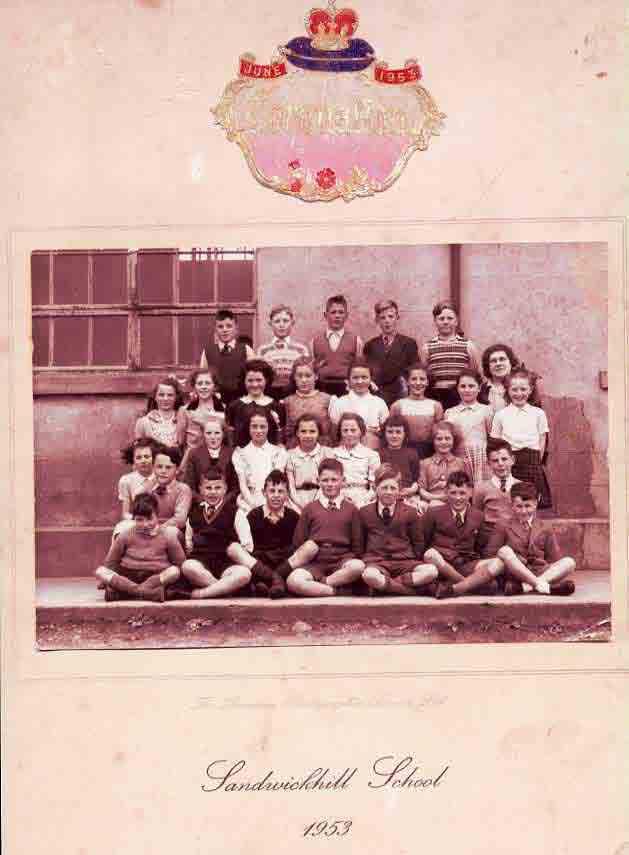 Sandwickhill School Coronation class 1953