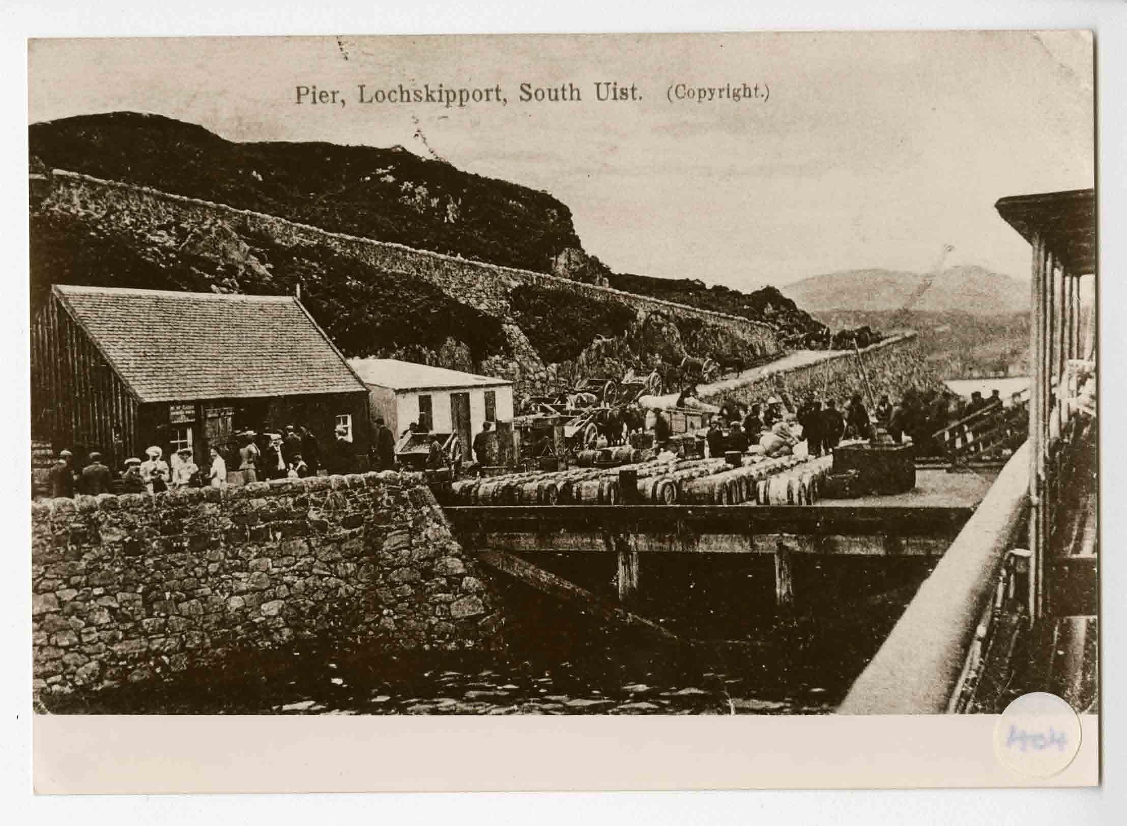 The pier at Loch Skipport