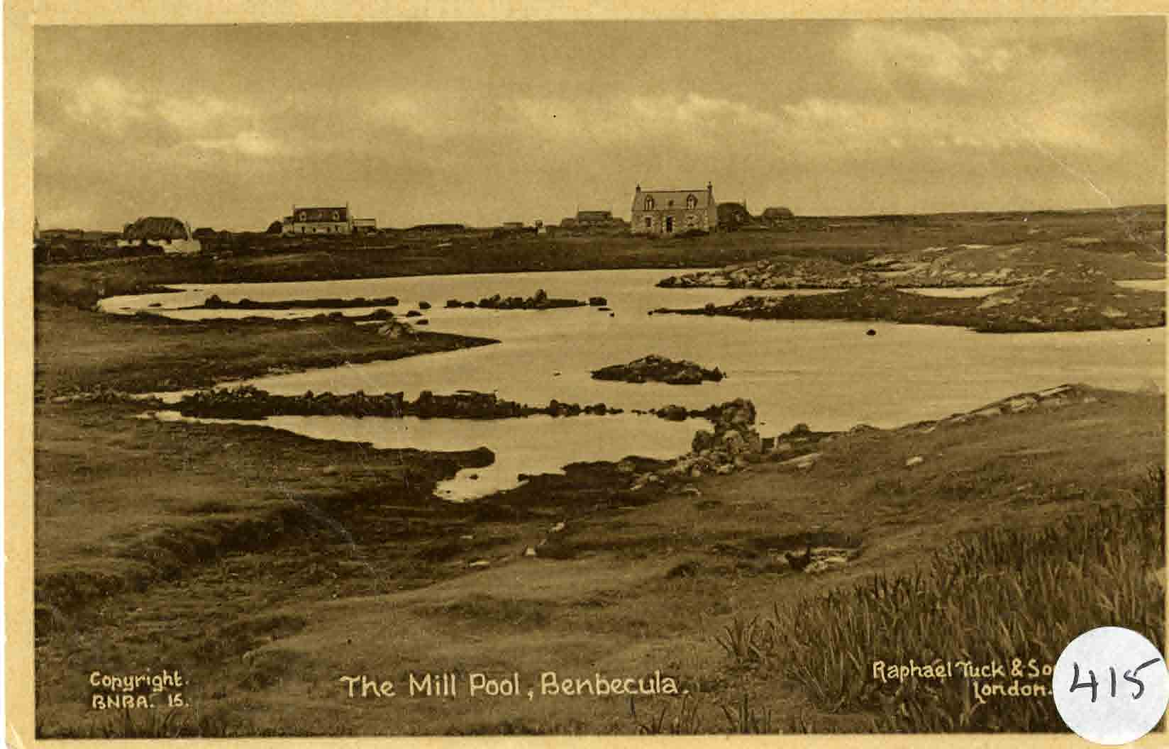 The mill pool on Benbecula