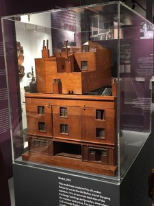 Picture of the model used in the trial at the Old Bailey
