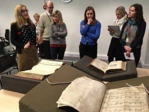 Session with Marianne Wilson on early Modern church records.