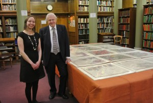 Me with Sir David Attenborough, at the Geological Society of London