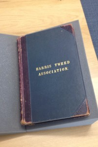 A Harris Tweed Association ledger