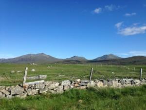 Beinn mhoir, Helca and Corrodail, South Uist