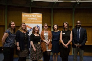 Skills for the Future Trainees at the Farewell Event at the NRS, Edinburgh