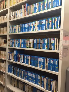 Tapes store in the School of Scottish Studies